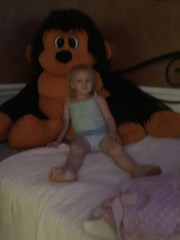 """Dani Poses witht he Big Monkey • <a style=""""font-size:0.8em;"""" href=""""http://www.flickr.com/photos/109120354@N07/48388713472/"""" target=""""_blank"""">View on Flickr</a>"""