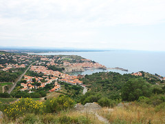 Collioure (Kaeko) Tags: trip travel vacation holiday france town europe resort collioure ocean landscape view