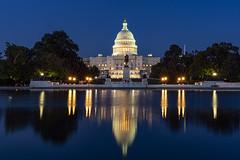Nighttime Photos of DC (Steve Holsonback) Tags: washington dc night long exposure capitol building