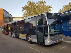 NLD Qbuzz 3160 ● Emmen Busstation (Roderik-D) Tags: qbuzz31003301 3160 emmenstation bxfv56 gd2020 2009 dieselbus euro5 mercedesbenz citaro2 o530ü savas bege überlandbus streekbus 2axle 2doors ivu gorba