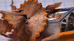 Shavings - Made of Wood [Explored 07-27-2019] (James Milstid) Tags: pencil sharpener shavings madeofwood macro canonef100mmmacro pencilsharpener macromondays explore explored hmm