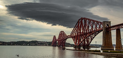 The Forth Railway Bridge & an angry cloud............ (kevaruka) Tags: forth bridge railway firth scotland evening kevin frost scenic sea estuary water rail colour colours wide angle uwa clouds cloudy day cloud summer july 2019 26072019 canon eos 5d mk3 ef24105f4l 5d3 5diii flickr front page thephotographyblog composition