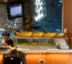 Airport sushi (Dan_DC) Tags: japanese detroitmetropolitanairport internationalairport deltaairlines internationalairhub sushi sashimi cuisine restaurant convenience airportrestaurant airportdining sushichef sushibar travel detroitmichigan dtw