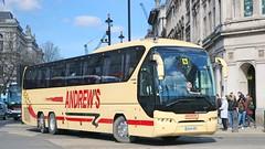 Andrew's - OU14SRZ (Waterford_Man) Tags: andrews ou14srz coach london