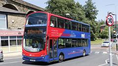 Transdev Lancashire United 3607 X7VTD YC53MXT (aptyldsley) Tags: volvo volvob7tl wrightbus wrightgemini accrington transdev