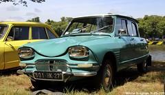 Citroën Ami 6 1964 (Wouter Bregman) Tags: 801hk27 citroën ami 6 1964 citroënami6 citroënami ami6 célébrationcentenairedecitroën célébration centenaire 2019 lafertévidame 28 eureetloire eure et loire france frankrijk vintage old classic french car auto automobile voiture ancienne française vehicle outdoor