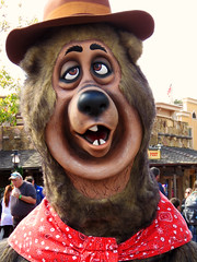 Shaker (meeko_) Tags: shaker terrence bear countrybearjamboree characters disneycharacters frontierland magic kingdom magickingdom themepark walt disney world waltdisneyworld florida