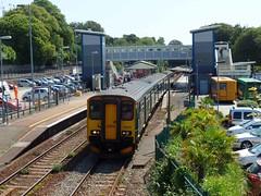 150202 & 150263 St Austell (Marky7890) Tags: gwr 150202 150263 class150 sprinter 2c83 staustell railway cornwall cornishmainline train