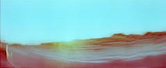 2_79960002_natasha_vassiliou (natasha_vassiliou) Tags: film analogue expired colour panoramic blue fujichrome provia horizon 120 degrees lens lomography cyprus