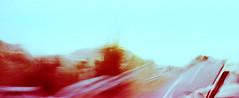 16_79960016_natasha_vassiliou (natasha_vassiliou) Tags: film analogue expired colour panoramic blue fujichrome provia horizon 120 degrees lens lomography cyprus
