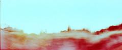 9_79960009_natasha_vassiliou (natasha_vassiliou) Tags: film analogue expired colour panoramic blue fujichrome provia horizon 120 degrees lens lomography cyprus