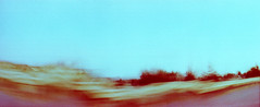 4_79960004_natasha_vassiliou (natasha_vassiliou) Tags: film analogue expired colour panoramic blue fujichrome provia horizon 120 degrees lens lomography cyprus