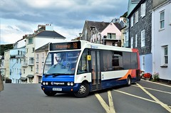 Stagecoach 47692 (stavioni) Tags: stagecoach single double decker bus south west devon dartmouth optare solo m880 47692 wa58mvp