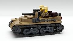 Hayalet Gun Carriage (John Moffatt) Tags: lego digital designer ldd mecabricks blender render tank destroyer or is it howitzer gun carriage tracks