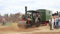 Leaving the ring (Duck 1966) Tags: avelingporter roadroller van steam weeting weetingsteamenginerally