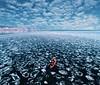 Baikal lake May (hobopeeba) Tags: russia baikal lake sky blue ice nature