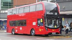 P1170157 EH319 YW19 VPM at Bromley South Station High Street Bromley South London (LJ61 GXN (was LK60 HPJ)) Tags: goaheadlondon goaheadmetrobus metrobus alexanderdennistrident2hybrid enviro400hybrid enviro400hhybrid enviro400h enviro400hybridmmc enviro400hhybridmmc enviro400hmmc e400h mmc majormodelchange 105m 10500mm eh319 yw19vpm j4579