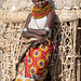 Turkana village woman