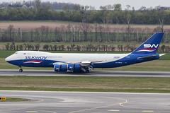 VQ-BVB | Silk Way West Airlines | Boeing B747-83QF | CN 44444 | Built 2014 | VIE/LOWW 05/04/2019 (Mick Planespotter) Tags: aircraft airport 2019 schwechat vienna nik sharpenerpro3 jumbo b747 b748 vqbvb silk way west airlines boeing b74783qf 44444 2014 vie loww 05042019 cargo freighter wien