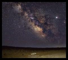 Milky way over beach (gerardtartalo) Tags: milkyway universe cosmos canon astrophotography astronomy landscape