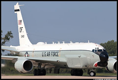 64-14849_45th RS (Scramble4_Imaging) Tags: boeing c135 rc135 rc135u combatsent reconnaissance usaf usairforce unitedstatesairforce acc aircombatcommand aviation airplane aerospace aircraft military jet 55wg