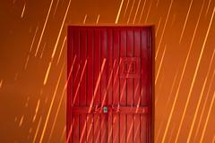 Shaded Door (marc.espowood) Tags: shadow colors door shade todos santos baja mexico