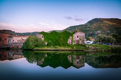 Sardegna-Bosa (dariosebekphotography) Tags: architecture outdoors water tree house lake nature italy sardegna sardinien landscapes reflection scenics sardinia bosa island building exterior photograph landscape