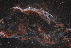 Final Witch's Broom / Western Veil Nebula (rex.on.life) Tags: astrophotography astronomy nebula stars longexposure night universe lookup nasa space