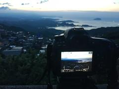 Before sunset. (蒼白的路易斯) Tags: landscape sunset 九份 手機攝影