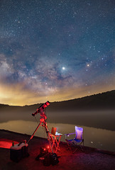 Spruce Knob Lake Astro night (rex.on.life) Tags: astronomy astrophotography galaxy nikon longexposure milkyway astrotech westvirginia spruceknob dosequis ioptron