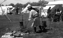 camp cooking (bergytone) Tags: film bw blackandwhite olympus om2 om2n kentmere 100 xtol