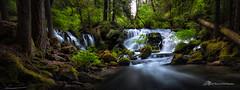 Sundown on the Rogue (Matt Straite Photography) Tags: waterfall landscape river stream oregon rogue boulder boulders tripod long longexposure color trees nature outdoor