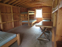 Our Cabin, Empty (amyboemig) Tags: camping july summer bowman lake state park ny cabin empty