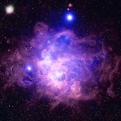 NGC 604 in M33 (sjrankin) Tags: 28july2019 edited nasa chandraspacetelescope xray 20thanniversary primage galaxy m33 ngc604 nebula