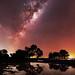 Milky Way at Herron Point, Western Australia