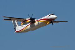 F-ZBMH Milan 75 (mduthet) Tags: fzbmh milan75 dhc8 conair aéroportdenîmesgarons sécuritécivile