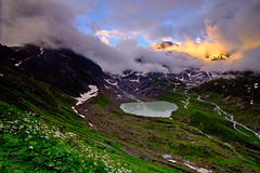 Spark of mountain light in the Alps (CsiziPhoto) Tags: samyang 12mm f2 cokin gradfilter softnd8 alps gadmen switzerland