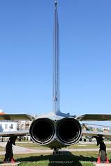 MiG-19 PM (srkirad) Tags: aircraft airplane jet russian hungarian mikoyan gurevich mig mig19 farmer twinjet twinengine aviationmuseum aviation museum reptar szolnok hungary travel exhaust