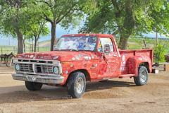Ford F100 1973 in Midpoint Adrian TX 8.5.2019 1416 (orangevolvobusdriver4u) Tags: 2019 archiv2019 usa america amerika roadtrip adrian texas adriantx route66 midpoint fordf100 fordf1001973 ford f100 1973 truck pickup
