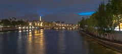 Pont du Carrousel - Paris (valecomte20) Tags: pont du carrousel paris seine blue hour bridge nikon d750 nikkor outside night sky cityscape tour eiffel