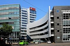 Düsseldorf Medienhafen (RPGB) Tags: düsseldorf dusseldorf mediaharbor medienhafen gebäude buildings focus cars autos