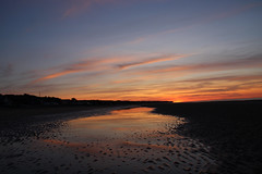 If I were a painter and could paint a memory.. (erlingraahede) Tags: france omaha normandy sunset goldenhour canon nofilters