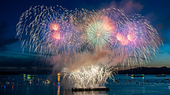India: Celebration of Lights 2019 (Sworldguy) Tags: hondacelebrationoflights india fireworks vancouver sunsetbeach englishbay downtown waterfront event summer westend fireworksdisplay sony a7iii nightscene colourful