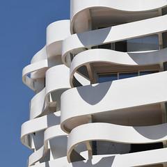 Tagliatelle Central (Arni J.M.) Tags: architecture building tagliatellecentral lestella waves jeanpierrelott alexandregiraldi balconies sky lacondamine monaco