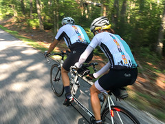 CBC Schuyler Rockfish (Bob Mical) Tags: charlottesvillebicycleclub virginia rockfish schuyler bicycle ride club iphone comotioncycles tandem