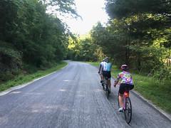 CBC Schuyler Rockfish (Bob Mical) Tags: charlottesvillebicycleclub virginia rockfish schuyler bicycle ride club iphone