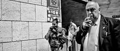 Mr big. (Baz 120) Tags: candid candidstreet candidportrait city contrast street streetphotography streetphoto streetcandid streetportrait strangers rome roma ricohgrii europe women monochrome monotone mono noiretblanc bw blackandwhite urban life portrait people provoke italy italia grittystreetphotography faces decisivemoment