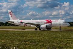 Tunisair (Carthage Eagles FIFA 2018 Livery) TS-IML (U. Heinze) Tags: aircraft airlines airways airplane planespotting plane flugzeug nikon d610 nikon28300mm haj hannoverlangenhagenairporthaj eddv