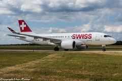 Swiss HB-JBI (U. Heinze) Tags: aircraft airlines airways airplane planespotting plane flugzeug nikon d610 nikon28300mm haj hannoverlangenhagenairporthaj eddv