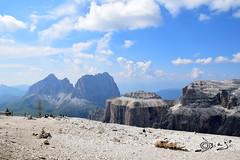 Sass Pordoi - Italy (Biagio ( Ricordi )) Tags: sasspordoi pordoi sella dolomiti canazei montagna nuvole trentino italy